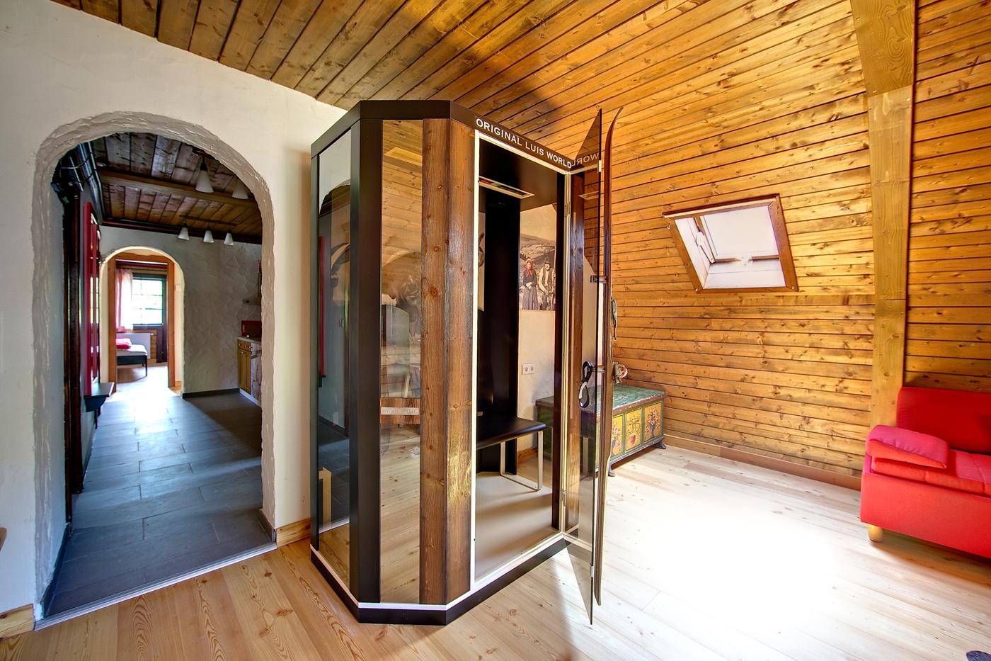 Kirchleitn_Appartement NockLuxus_Infrarotsauna