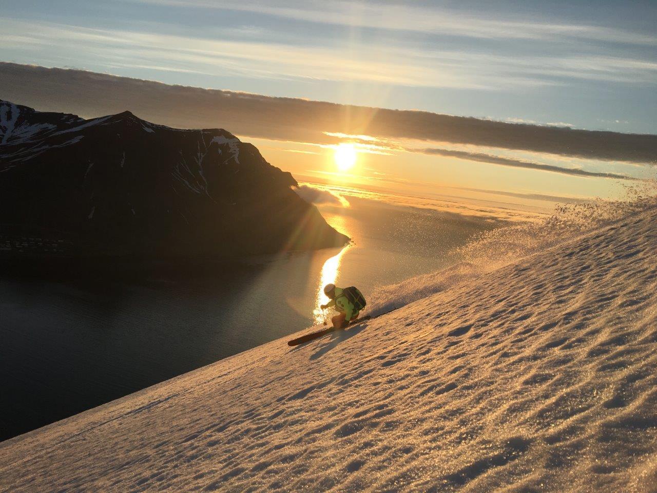 island-skiszene