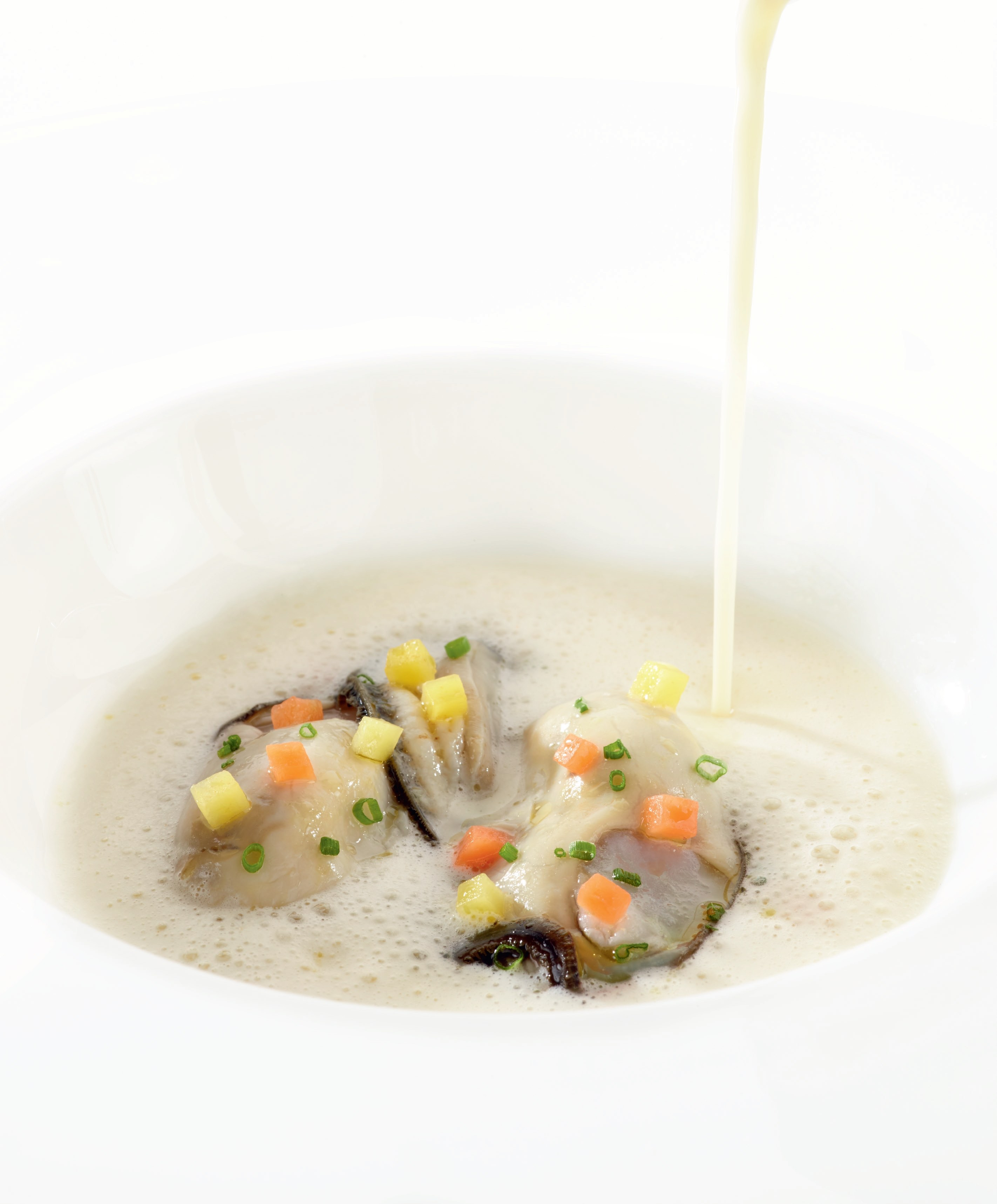 Pochierte Gillardeau-Auster