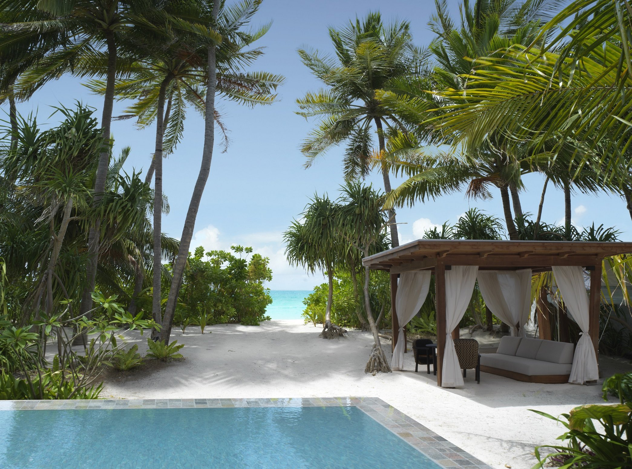 Fairmont Maldives Sirru Fen Fushi: private Pools