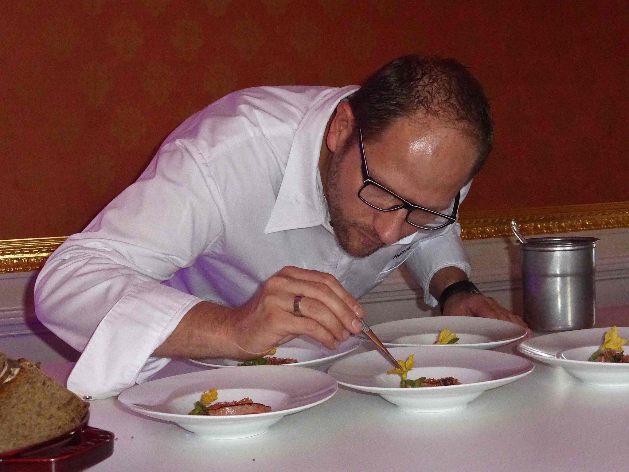 Gourmetgipfel Villa Rothschild: Rolf Fliegauf