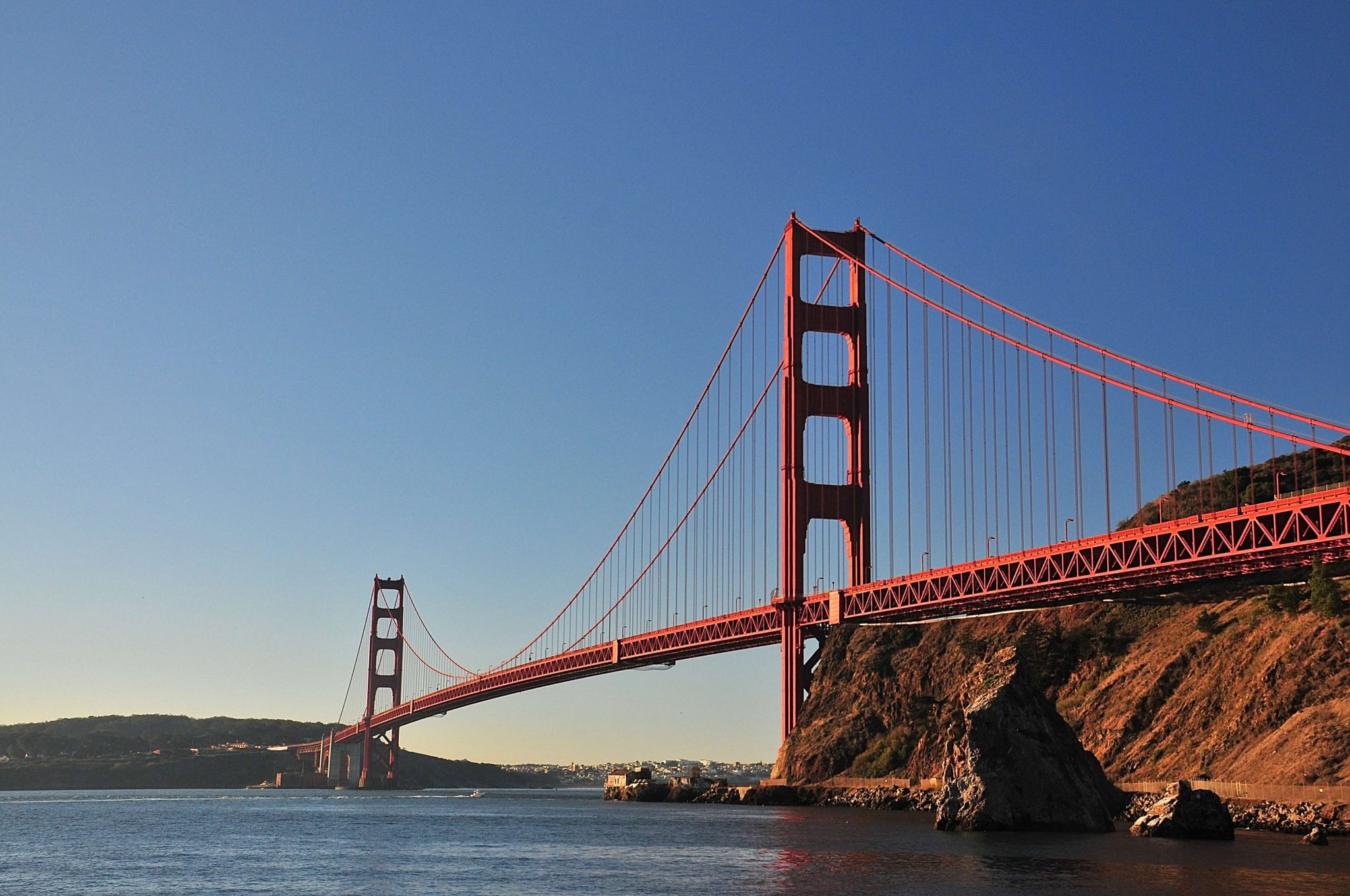 Sausalito: nah der Golden Gate Bridge