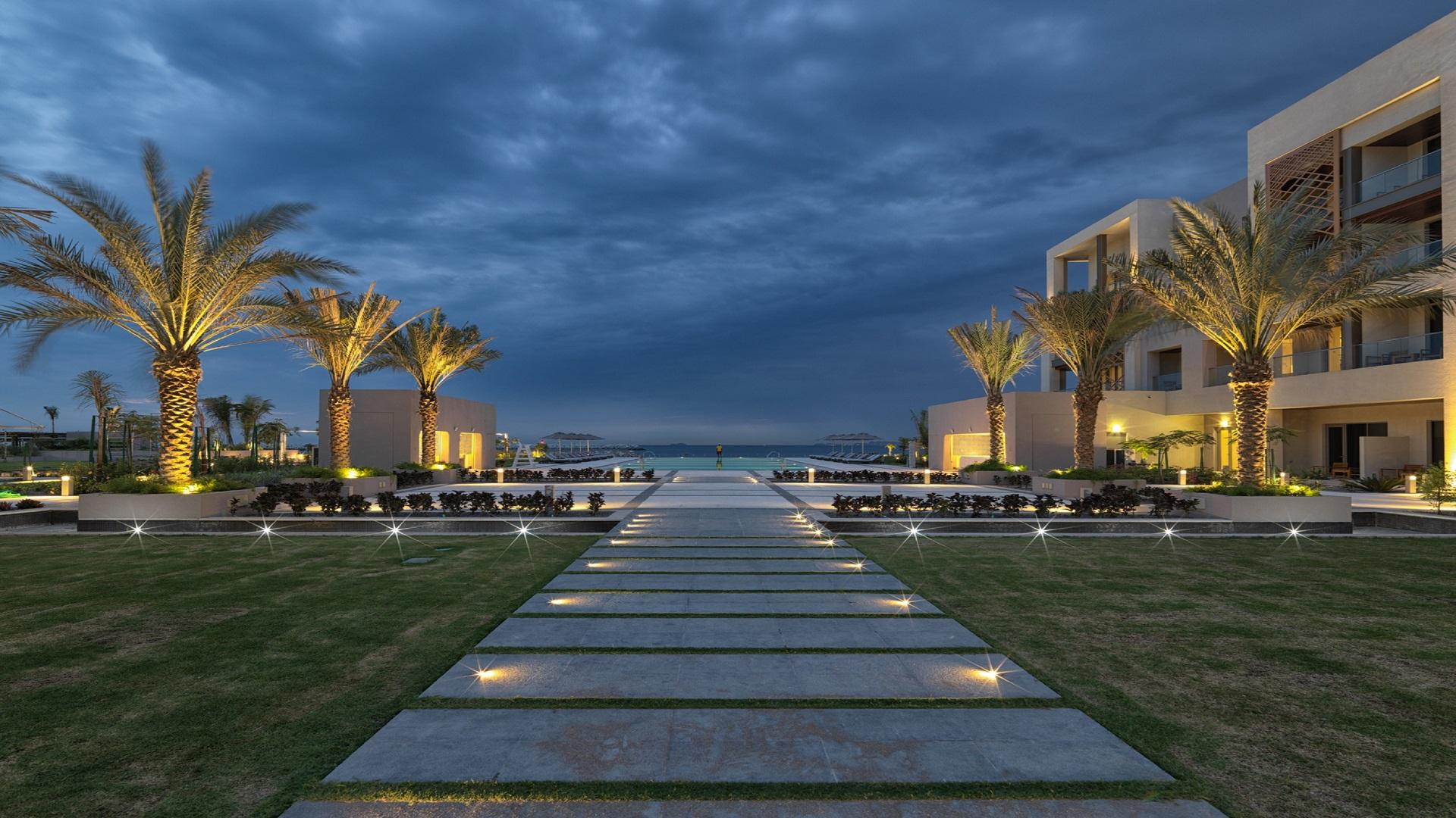 Kempinski Hotel Muscat: Dämmerung