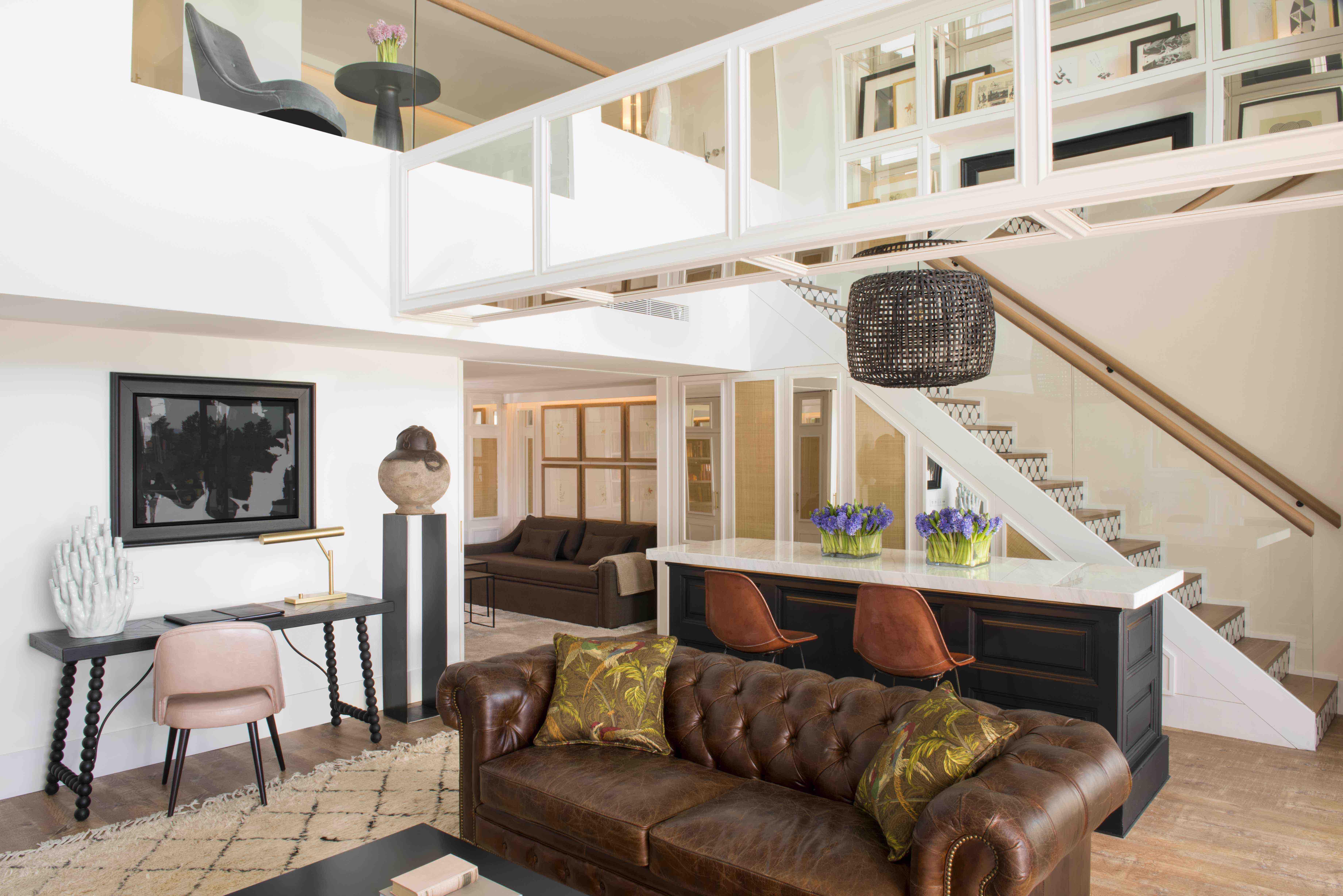 Hotel Camiral: Duplex-Lounge